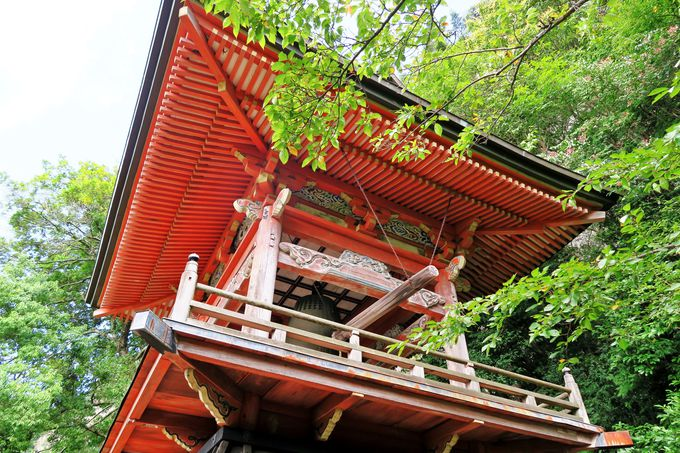 長い石段をたどり、開山1300年の時を想う「鳳来寺」