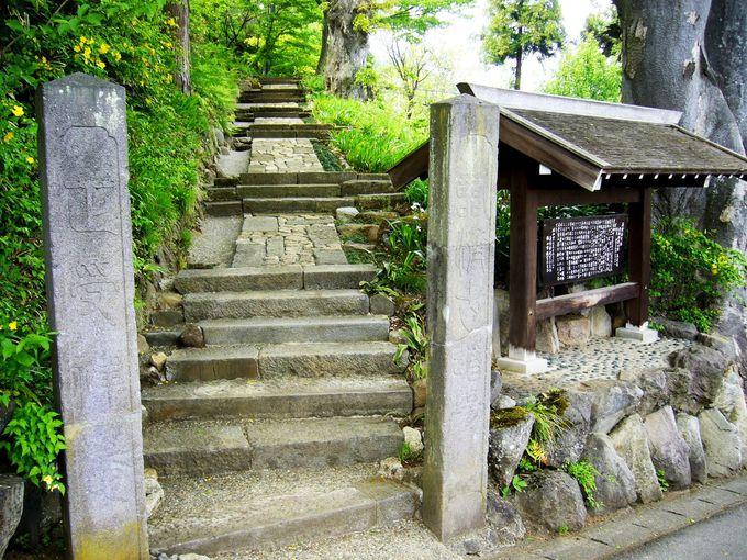 飯山の寺まちの代表格。真田家ゆかりの「正受庵」