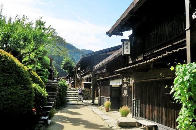 江戸時代の風情を色濃く残す宿場町「妻籠宿」
