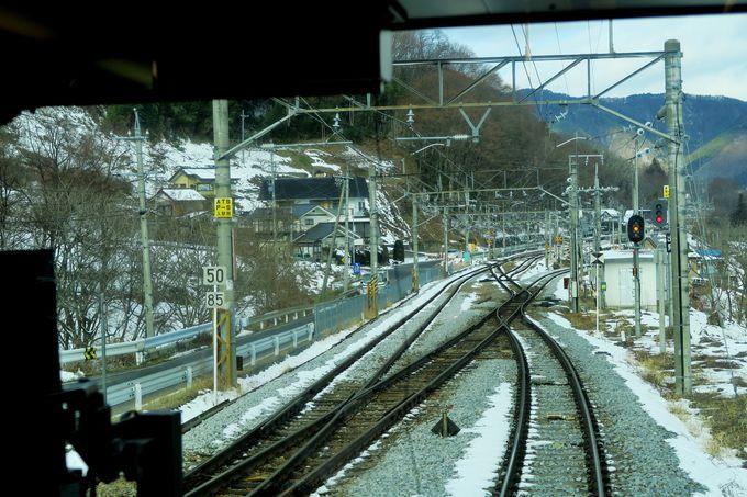 篠ノ井線のハイライト「スイッチバック」と「善光寺平」