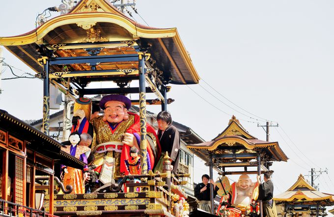 ユネスコの無形文化遺産「山・鉾・屋台行事」城端曳山祭