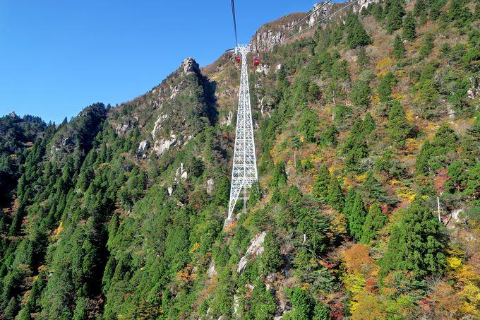 ロープウェイで登れる三重県人気No.1の山・御在所岳