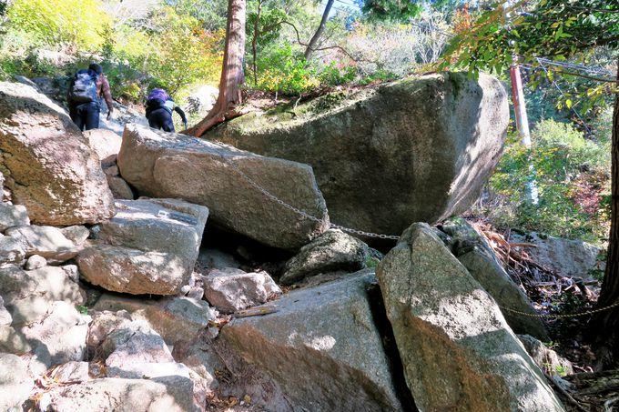 御在所岳登山ならおすすめメインルートは「中登山道」