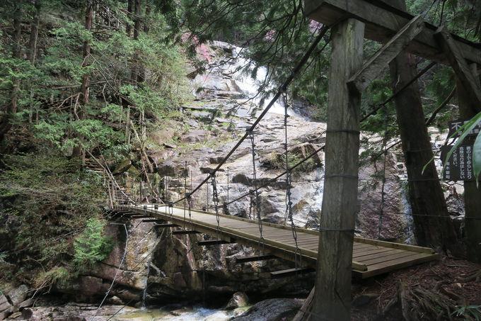 主瀑・天河滝(てんがたき)は天からの恵みの飛沫が降り注ぐ