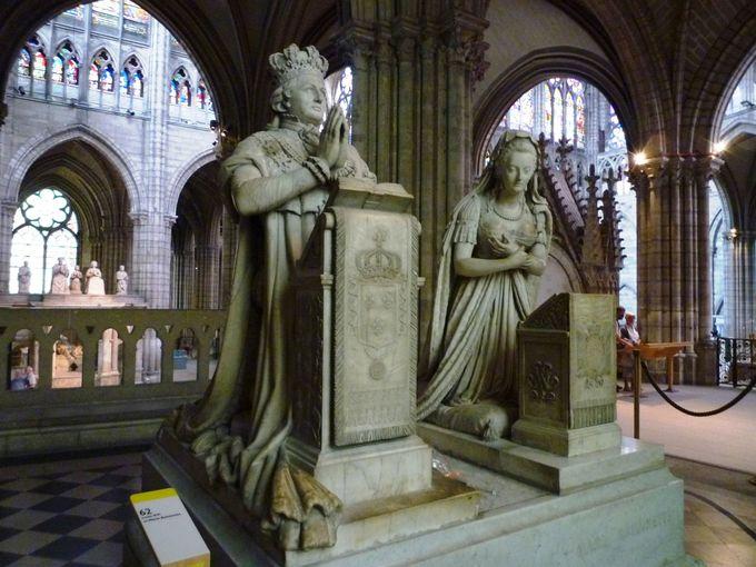 ルイ16世とマリーアントワネットもここに
