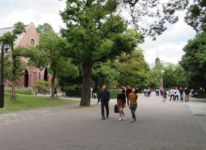 薩摩藩邸あとに建てられたキリスト教の学び舎