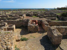 チュニジア・貝紫で栄えた古代フェニキア都市「ケルクアン」へ