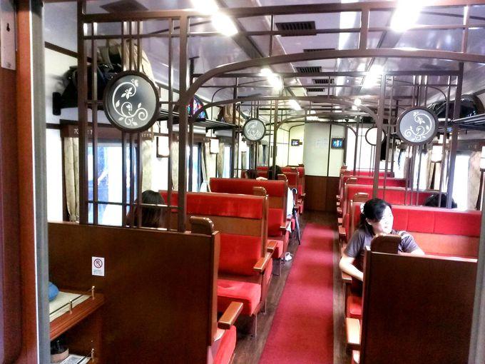 エレガントな客車で満喫する非日常の世界!