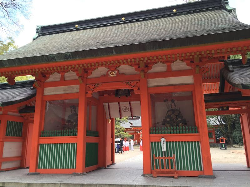全国に2000以上あるなかでも最古の「住吉神社」