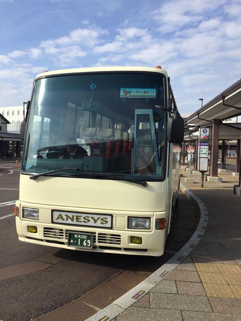 「しばたん観光バス」で新潟県新発田市の名所めぐり