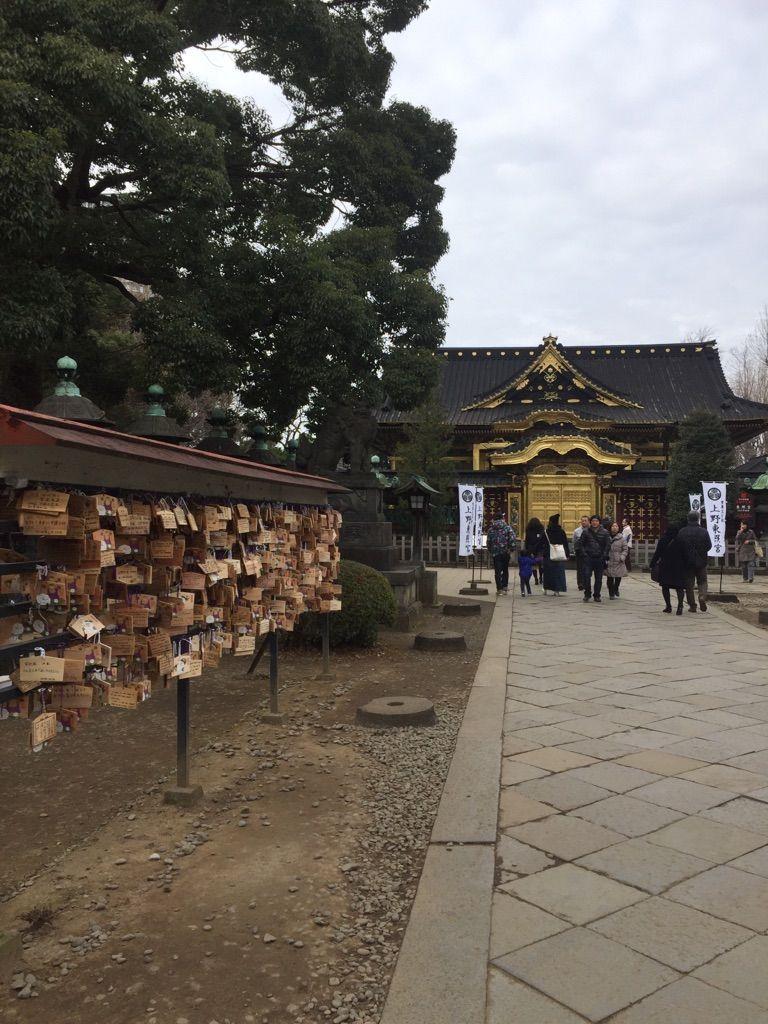 上野東照宮の参拝もしよう!