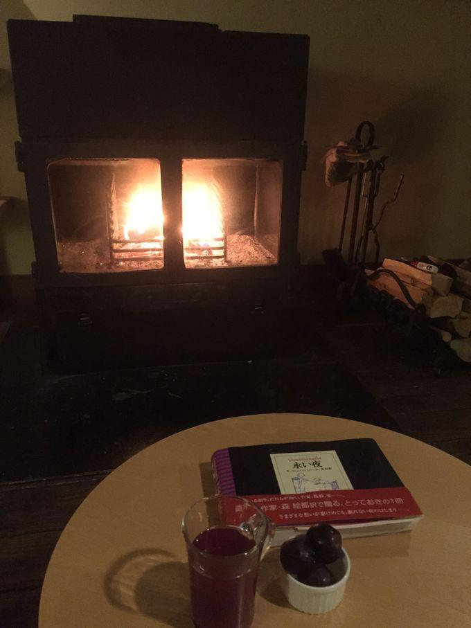 炎のゆらめきと共に過ごす静かな夜