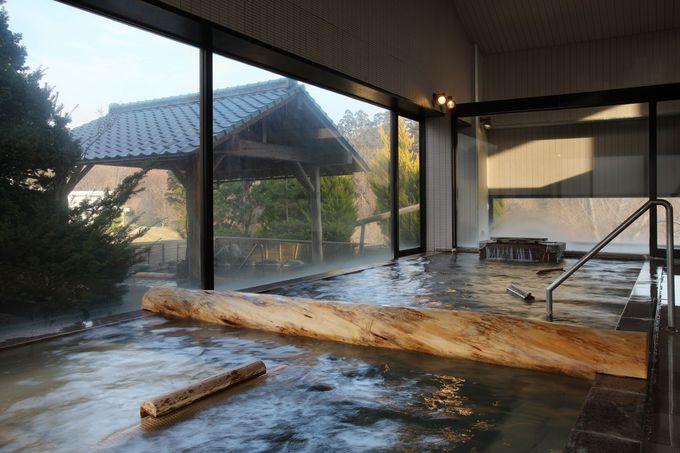 「別邸つばき」のお湯は保温効果が長続き!
