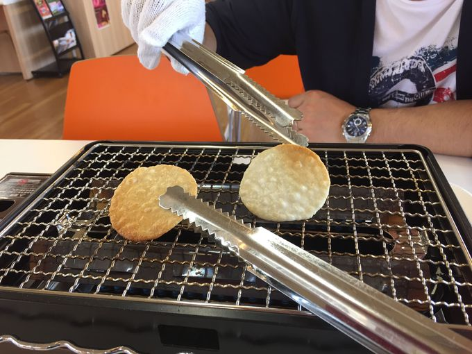 9.酒田米菓・オランダせんべいFACTORY