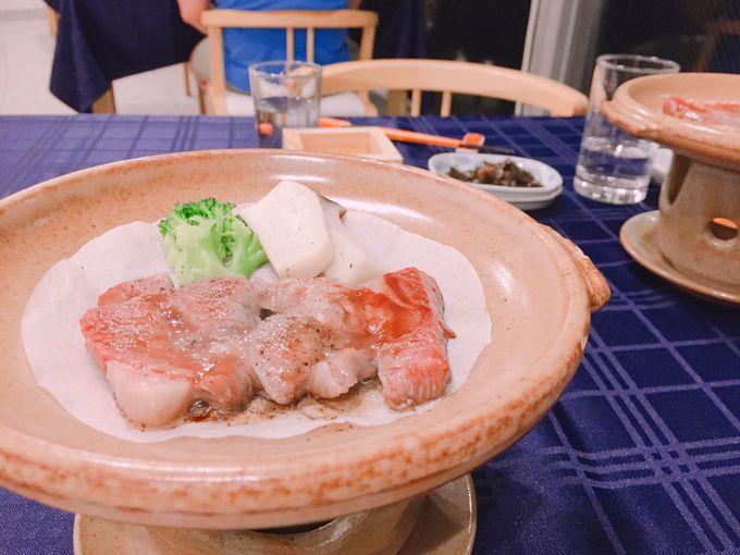 季節感あふれるお料理を美味しく味わうディナータイム