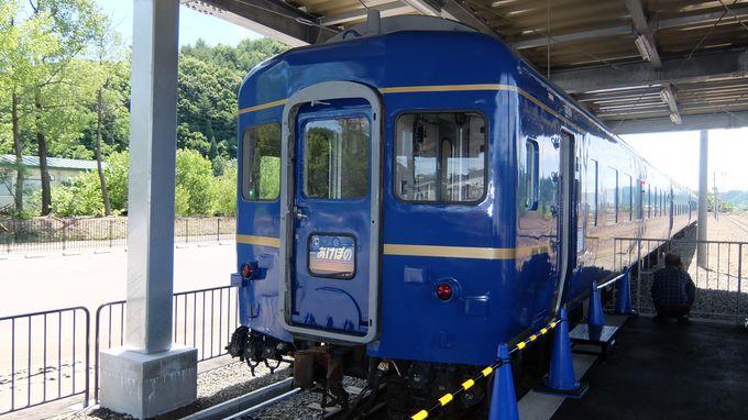 あのブルートレインも!懐かしの列車が並ぶ車両展示場