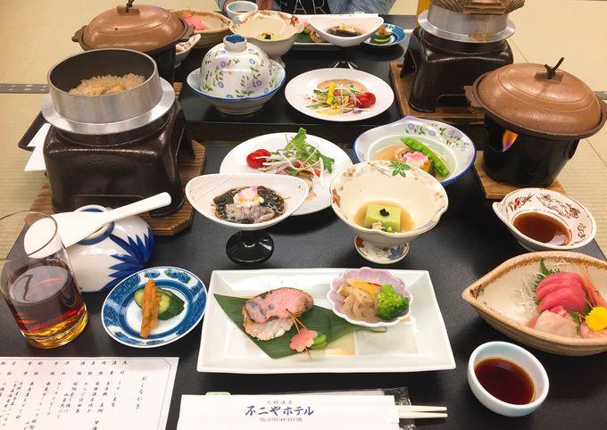 青森県産の食材を堪能できる「不二やホテル」の夕食&朝食