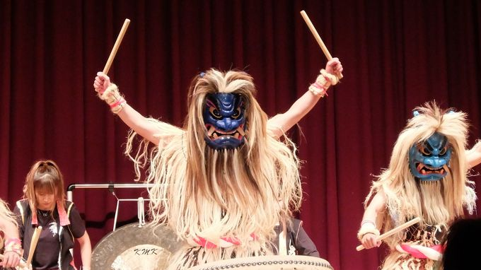 圧巻のパフォーマンス!「なまはげ太鼓ライブ」にしびれる!