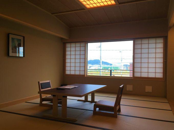 明るく優しい「網元の宿 磯村」のお部屋でくつろごう