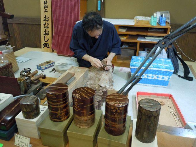 国指定伝統工芸品・角館の「樺細工」とは
