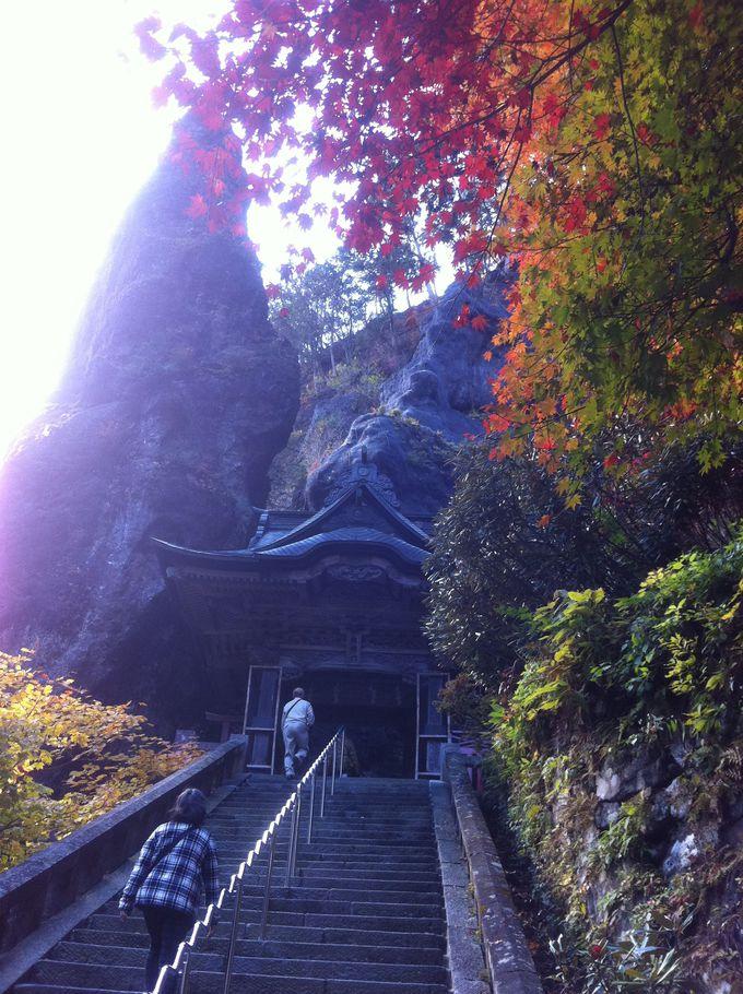 榛名神社でも紅葉を楽しめます