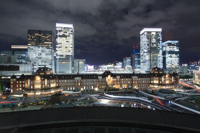 東京駅を端から端まで楽しもう