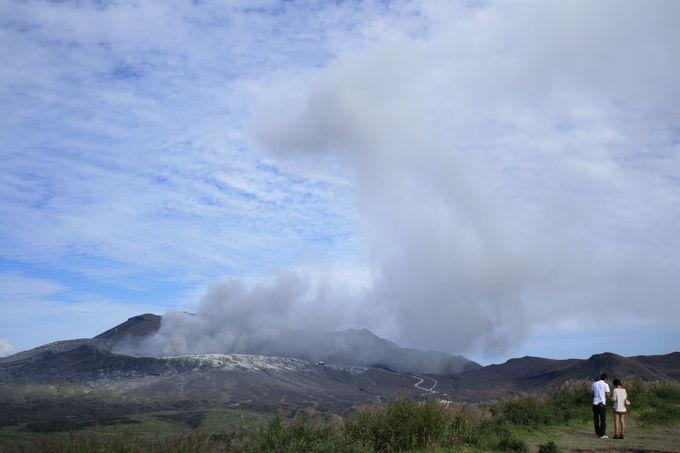 これが活火山のパワー!