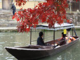 『あさが来た』のロケ地!歴史ある町、滋賀県の近江八幡