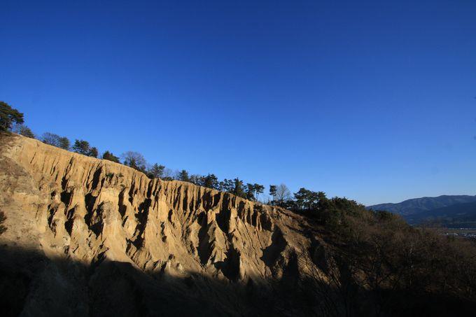 アメリカのロッキー山脈、チロルの土柱、そして阿波の土柱