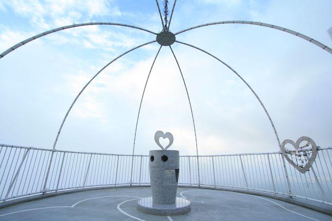 皿倉山は恋のスポットでもあります