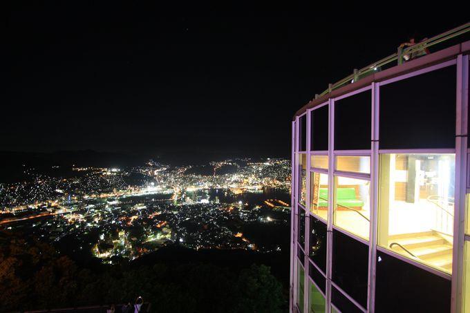 稲佐山山頂展望台へのアクセス