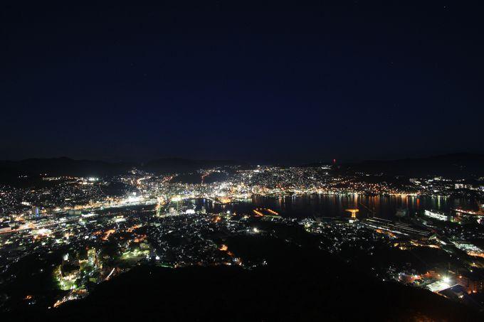 まず行きたいのは、やはり稲佐山の展望台!