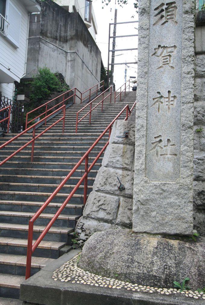 『君の名は。』の聖地、須賀神社