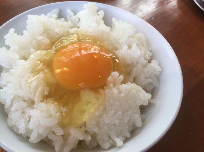 ご飯にも卵をかけちゃおう