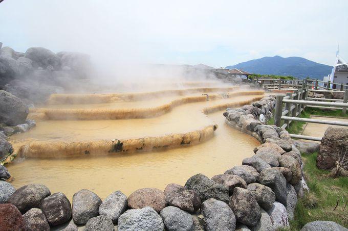 日本一長い足湯、ほっとふっと105