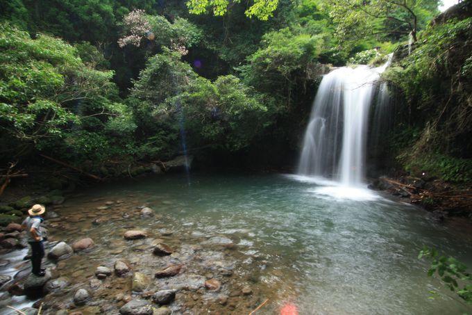 リフレッシュに最適な鮎帰りの滝