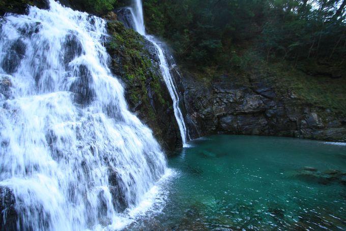 水質日本一はダテじゃない!「安居渓谷」「にこ淵」