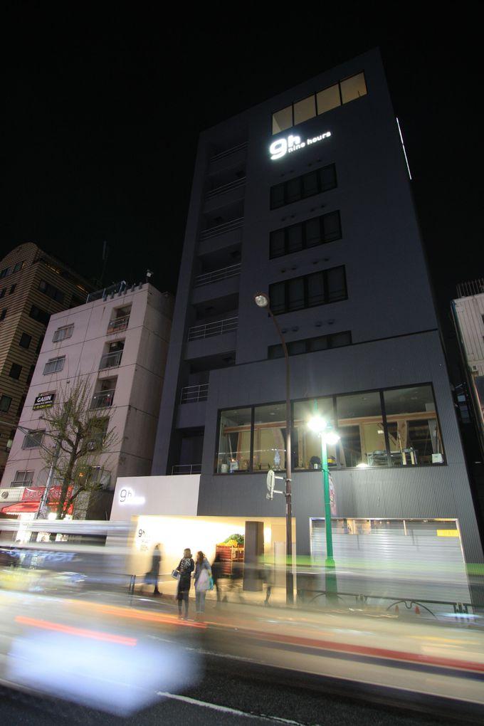 ナインアワーズ北新宿へのアクセス