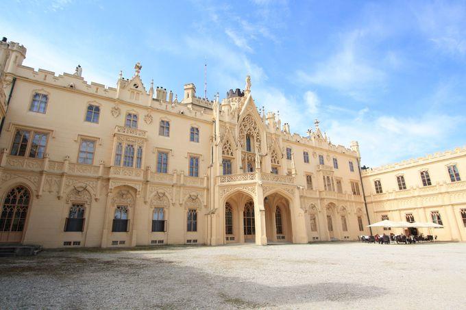 レドニツェ城はリヒテンシュタイン家の夏の離宮