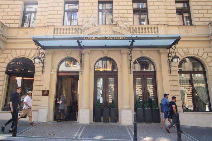 コスモポリタンホテルの好立地