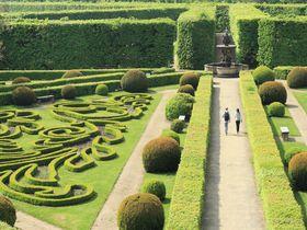チェコ「クロムニェジーシュ」の見所、世界遺産の庭園群と大司教宮殿