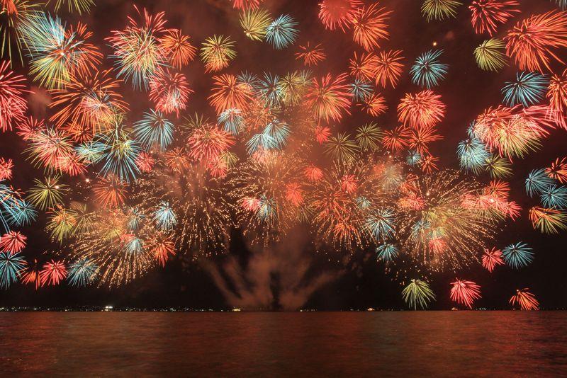 琵琶湖の花火大会は関西屈指のド迫力!2018年も1万発の感動を