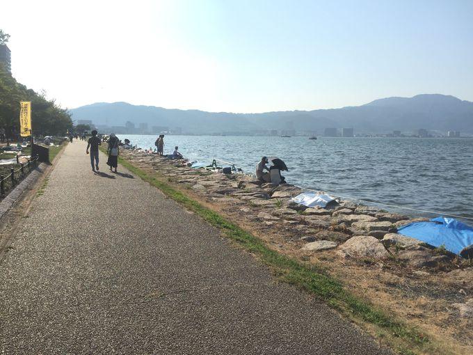 「びわ湖大花火大会」へのアクセスと注意点