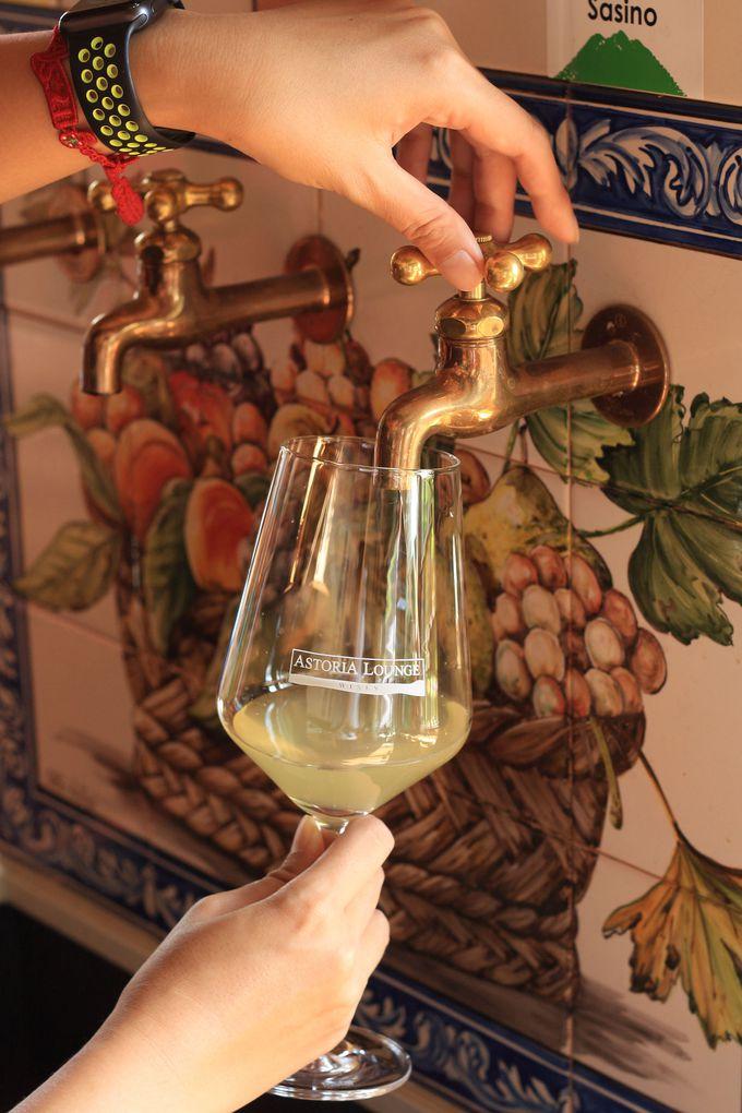 これが蛇口ワインだ!