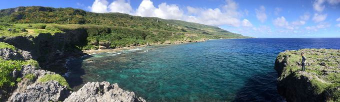 海と大地の雄大な景色もgood!