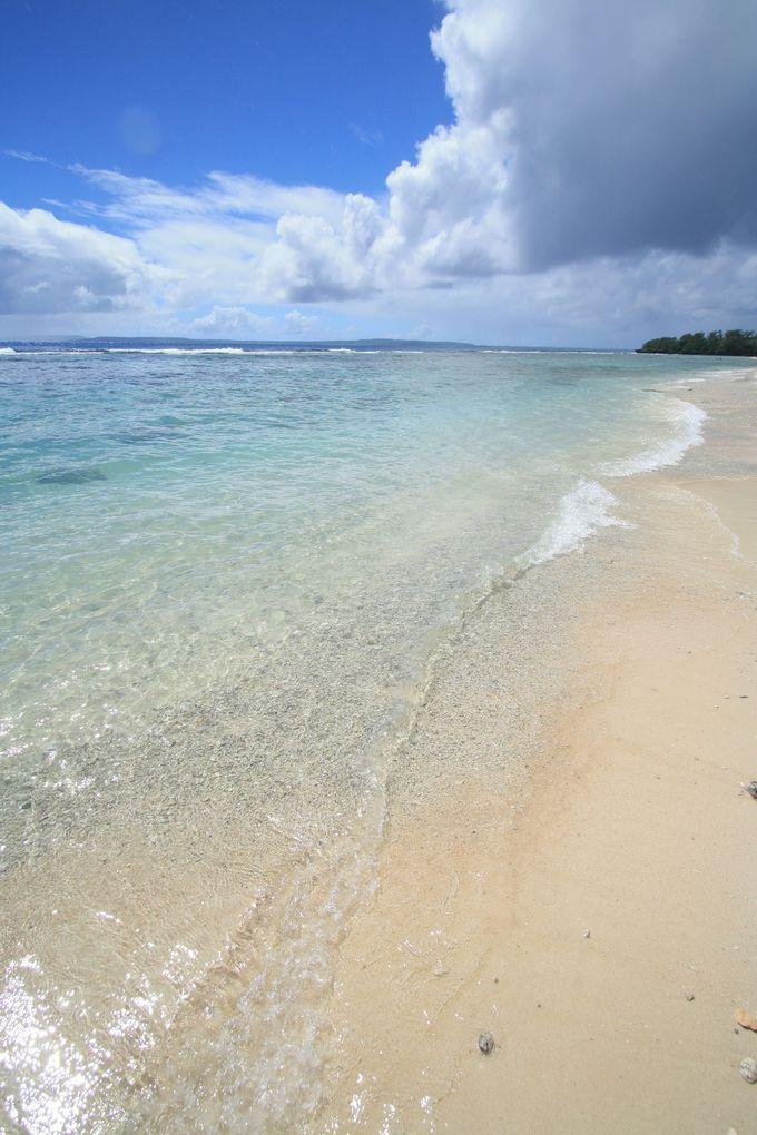 3.海水浴にも人気のオブジャンビーチ