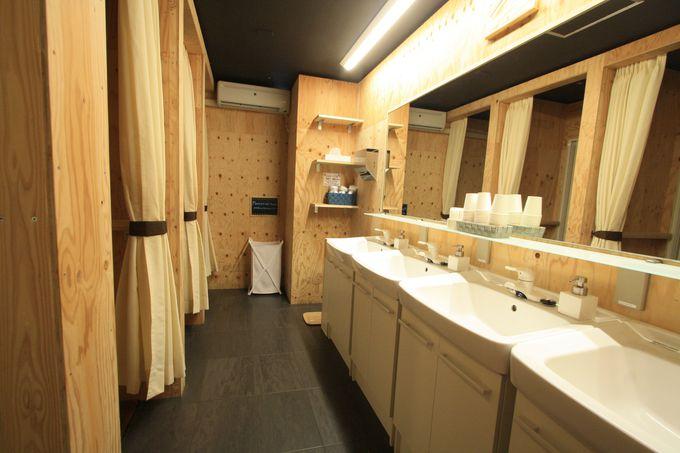 宿泊のスペースも快適空間