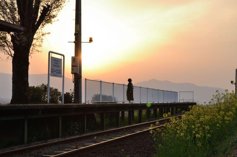 午後ティーのcmがついに完結 阿蘇 見晴台駅 へロケ地訪問 熊本県
