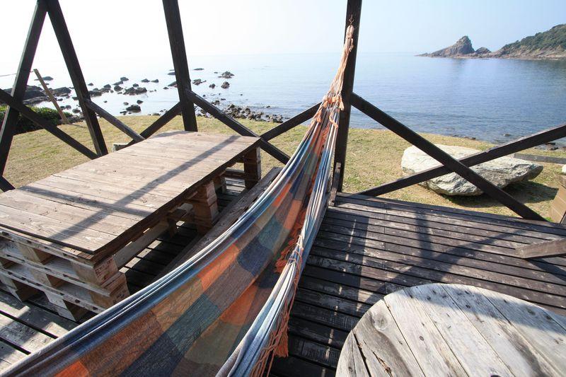 海まで徒歩30秒!?「風来望」は天草の自然を満喫できる宿泊施設
