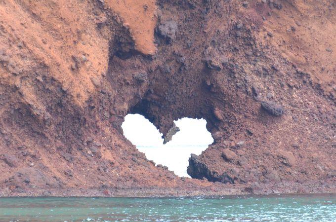 ハート岩は縁結びのパワースポットに